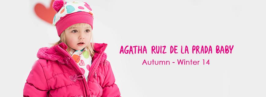 Agatha Ruiz de la Prada Baby Autumn – Winter 14