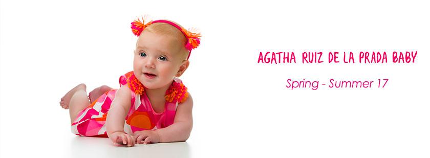 Agatha Ruiz de la Prada Baby Spring Summer 17